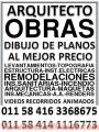 DIBUJO DE PLANOS 50 $ ARQUITECTO DISEÑO PROYECTOS INGENIERO