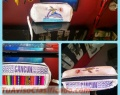 Monederos de Badana y tapiz - souvenirs - diseños caribeños a mano producción al por mayor